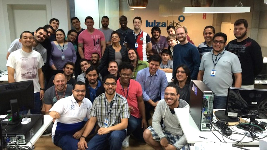 A equipe do Luiza Labs